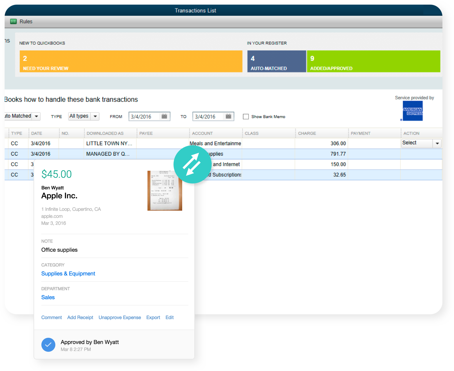 Expense Reporting Software for QuickBooks Online